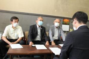 2022年度愛知県予算への重点要望書を提出